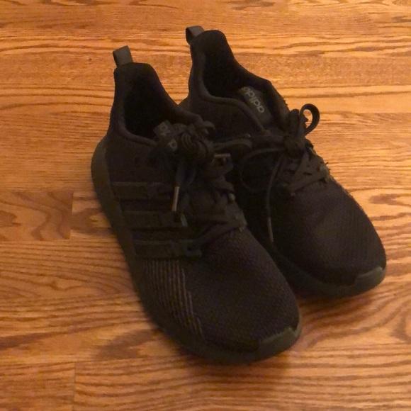 Adidas black shoes size 6